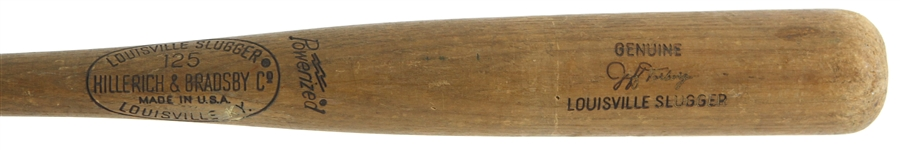 1973 Jeff Torborg California Angles H&B Louisville Slugger Professional Model Game Used Bat (MEARS LOA)