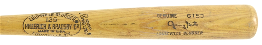 1977-78 Jerry Grote Los Angeles Dodgers H&B Louisville Slugger Professional Model Bat (MEARS LOA)