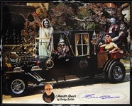 1925-2015 George Barris Customizer (Munster Koach) Signed LE 16x20 Color Photo (JSA)