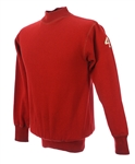 1940s-50s Red #4 Game Worn OShea Knitting Mills Football Sweater (MEARS LOA)