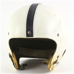 1953-57 Game Worn Football Helmet w/ Baltimore Colts Decals (MEARS LOA)