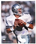 1989-2000 Troy Aikman Dallas Cowboys Signed 16x20 Color Photo (Radtke)