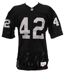 1991 Ronnie Lott Los Angeles Raiders Game Worn Home Jersey (MEARS LOA)