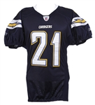 2007 LaDainian Tomlinson San Diego Chargers Home Jersey (MEARS LOA)