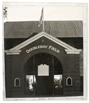 "1940s Doubleday Field Baseball Hall of Fame 6"" x 7"" Original Photo"