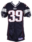 2006 Laurence Maroney New England Patriots Game Worn Home Jersey (MEARS LOA)