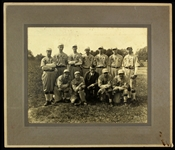 1920s-30s Military & Baseball Oversize Original Photo Collection - Lot of 3