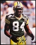 1990s Sterling Sharpe Green Bay Packers Autographed 8x10 Color Photo (JSA)