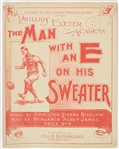 1899 The Man With An E On His Sweater Sheet Music