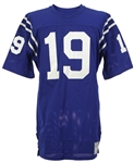 1970-1973 Johnny Unitas Baltimore Colts Jersey