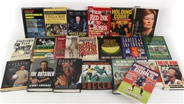 1980s-2000s Sports Books & Golf Hat Collection - Lot of 59