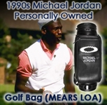 1990s to Present Michael Jordan Chicago Bulls Personally Owned & Used Custom Golf Bag (MEARS LOA)