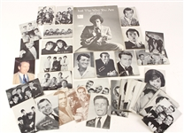 "1950s-70s Rock N Roll Exhibit Cards - Lot of 74 + Billy Joel ""Just The Way You Are"" Sheet Music"