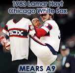 1983 LaMarr Hoyt Chicago White Sox Game Worn Home Jersey (MEARS A9) Cy Young Season