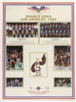 1984-85 Michael Jordan US Olympic Team & Chicago Bulls Posters - Lot of 2