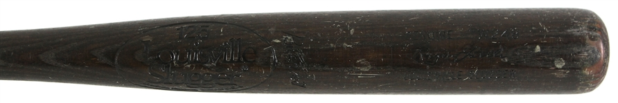 1982-83 Bryan Little Montreal Expos Louisville Slugger Professional Model Game Used Bat (MEARS LOA)