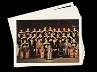 "1969-1970 Boston Bruins Stanley Cup Champions 5""x7"" Full Color Glossy Paper Team Photo (Lot of 24)"