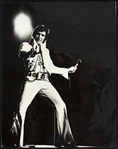 "1970s  Elvis Pressley 6""x8"" Original Photo"