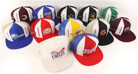 1983-85 USFL Mesh Trucker Hat Collection - Lot of 24