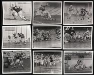 "1961 Oakland Raiders Boston Patriots Candlestick Park Original 8"" x 10"" Photos - Lot of 9 w/ Fred Williamson & More"