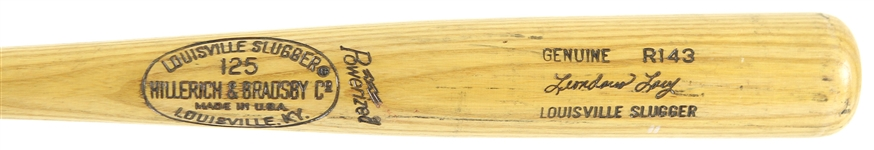 1977-78 Lee Lacy Los Angeles Dodgers H&B Louisville Slugger Professional Model Game Used Bat (MEARS LOA)