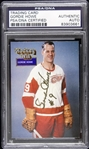 1994 Gordie Howe Detroit Red Wings Signed Hockey Wit Card (PSA/DNA Slabbed)