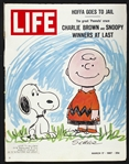 1967 (March 17) Life Magazine w/ Charlie Brown & Snoopy Peanuts Cover