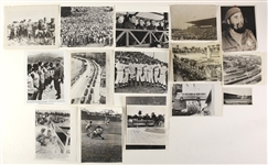 1910s-70s Cuba Original & Wire Photo Collection - Lot of 45 w/ Fidel Castro, Willie Mays, Presidente Batista, Cuban Refugees & More