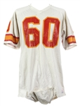 1978-79 Wally Chambers Tampa Bay Buccaneers Game Worn Road Jersey (MEARS LOA)