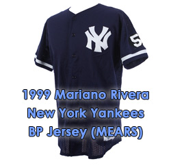 brand new 9bd13 2cd4a Lot Detail - 1999 Mariano Rivera New York Yankees Game Worn ...