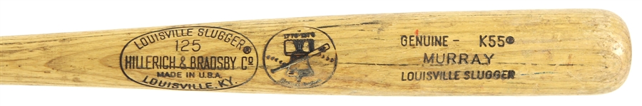 1976 Dale Murray Montreal Expos H&B Louisville Slugger Professional Model Game Used Bat (MEARS LOA)