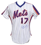 1983 Keith Hernandez New York Mets Signed Game Worn Home Jersey (MEARS A10/JSA)