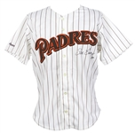1987 Steve Garvey San Diego Padres Signed Game Worn Home Jersey (MEARS A10/JSA) Final Season