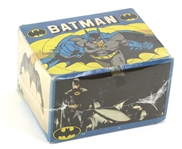 1989 Rare Green Batman Trading Cards Unopened Hobby Box