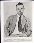 1959 John Dillinger Public Enemy #1 25th Anniversary of His Death 8x10 Wire Photo
