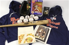 1970s-90s Baseball Memorabilia Collection - Lot of 40 w/ Robin Yount Signed Bat, Framed Milwaukee Brewers Team Photos, Posters & More (JSA)