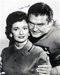 1948-1949, 1953-1957 Noel Neill Superman (pictured sitting) Signed LE 16x20 B&W Photo (JSA)