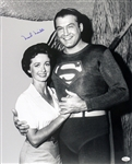 1948-1949, 1953-1957 Noel Neill Superman (pictured standing) Signed LE 16x20 B&W Photo (JSA)
