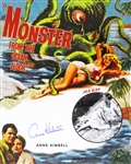 1954 Anne Kimbell Monster from the Ocean Floor Signed LE 16x20 Color Photo (JSA)