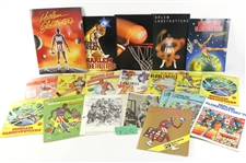 1950s-90s Harlem Globetrotters Memorabilia Collection - Lot of 32 w/ Programs, Tickets, Photos & More