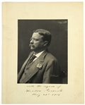 "1906-07 Theodore Roosevelt 26th President of the United States of America Signed 11"" x 14"" Mounted Photo (JSA)"