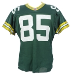 1991 Jeff Query Green Bay Packers Game Worn Home Jersey (MEARS LOA)