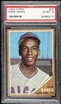 1962 Ernie Banks Chicago Cubs Topps Trading Card (PSA EX-MT 6)