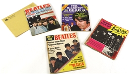 1960s The Beatles Magazine Collection - Lot of 4