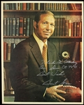 1970s Bart Starr Green Bay Packers Head Coach Signed 8x10 Color Photo (JSA)