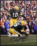 1980-1983 Jan Stenerud Green Bay Packers Signed 8x10 Color Photo (JSA)