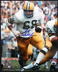 1969 Gale Gillingham Green Bay Packers Signed 8x10 Color Photo (JSA)