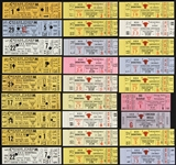 1966-1973 Chicago Bulls Full Ticket Collection (Lot of 73)