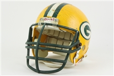 1984-87 Charles Martin Green Bay Packers Signed Game Worn Helmet (MEARS LOA/JSA)