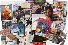 1980s-90s Olympic Signed Magazine & Photo Collection - Lot of 42 w/ Mary Lou Retton, Greg LeMond, Greg Louganis, Dan Gable & More (JSA)